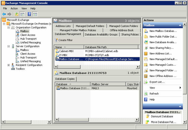 how to create mail enabled user exchange 2010